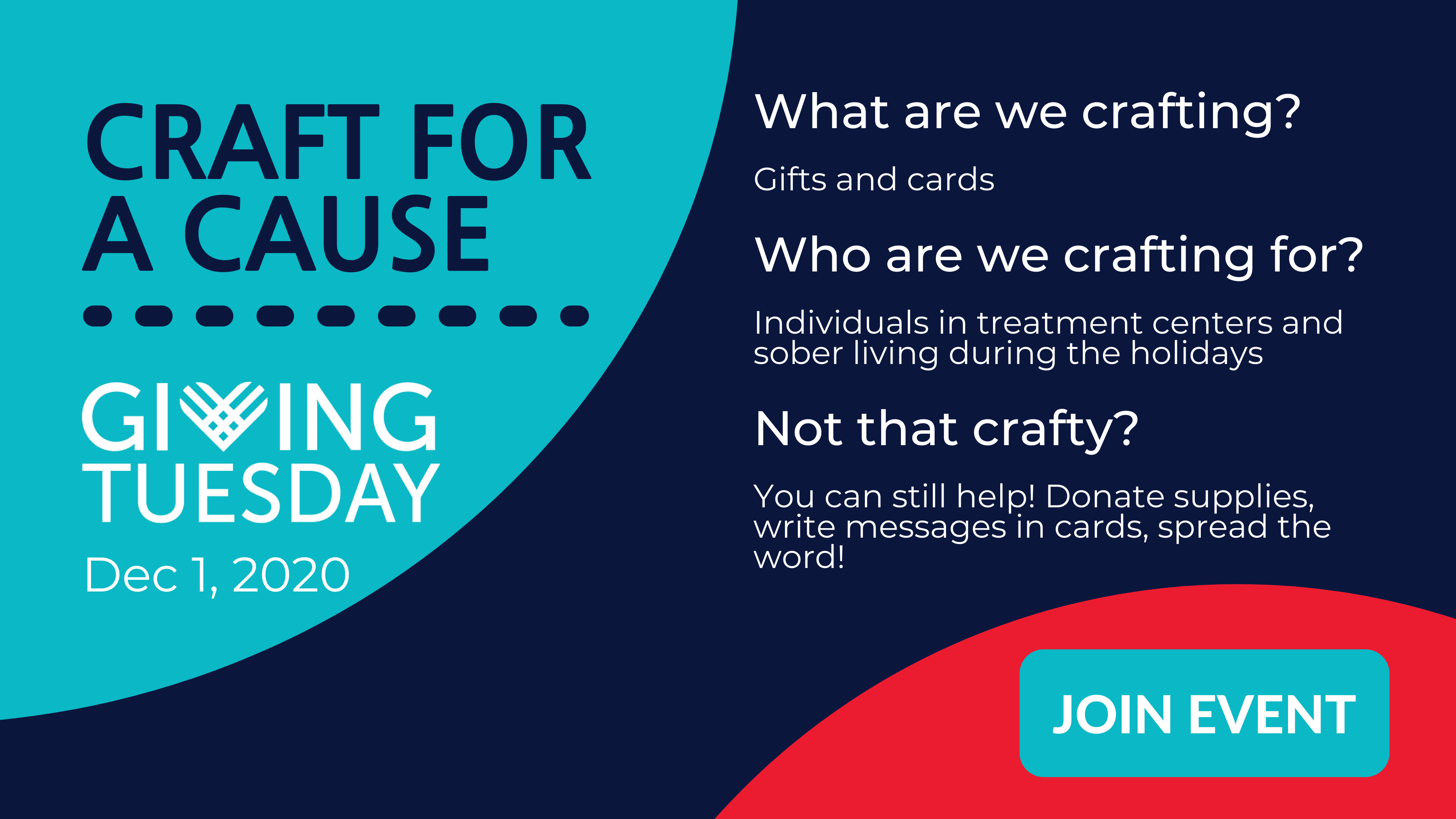 Craft for a cause giving tuesdat at ARCNH
